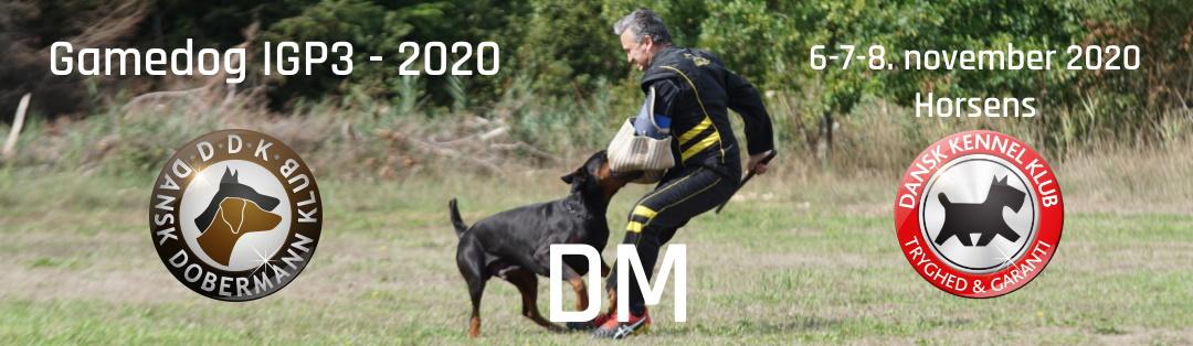 INDBYDELSE DKK – DM IGP3 – 2020